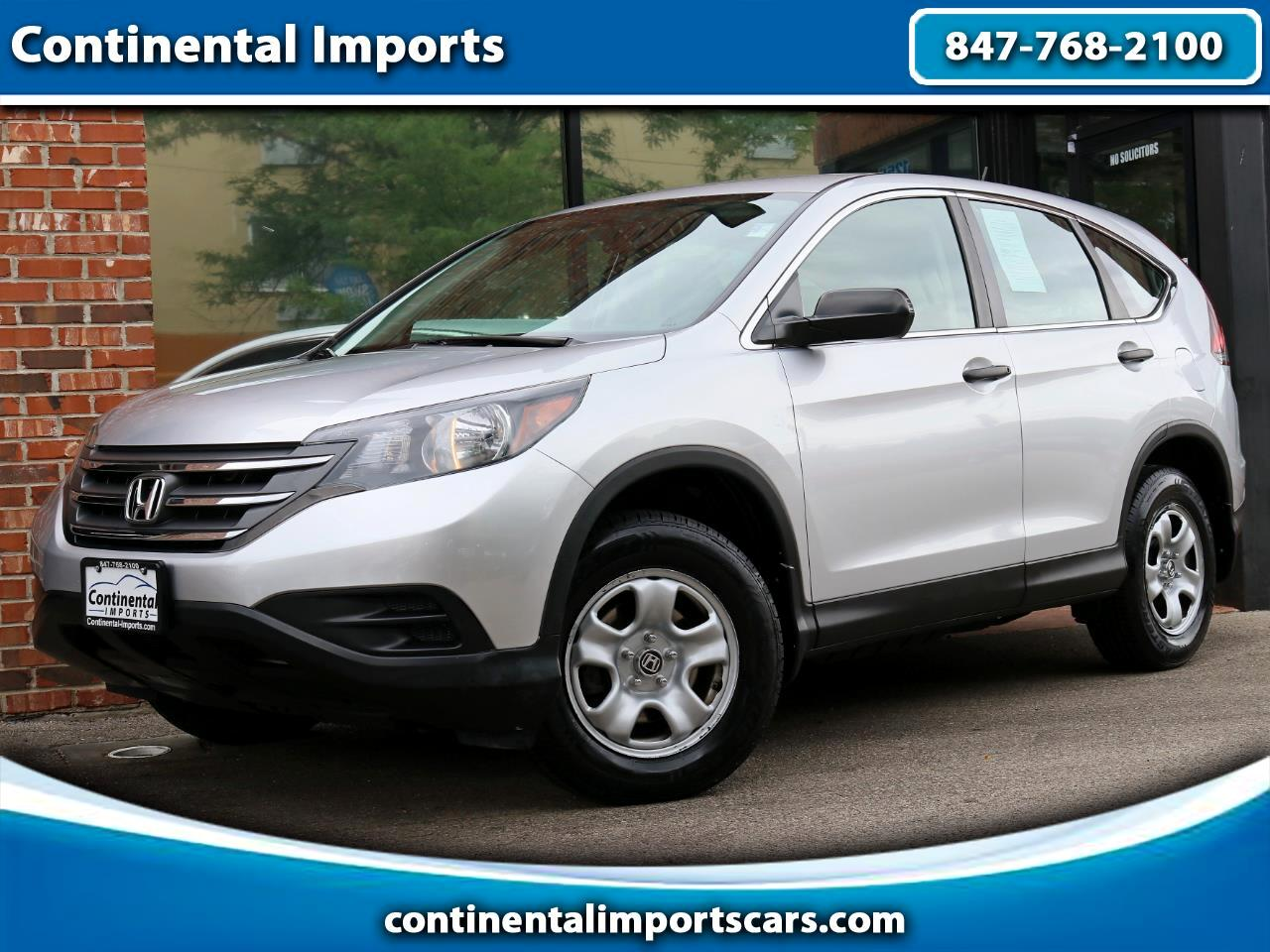 Honda CR-V LX 4WD 5-Speed AT 2013