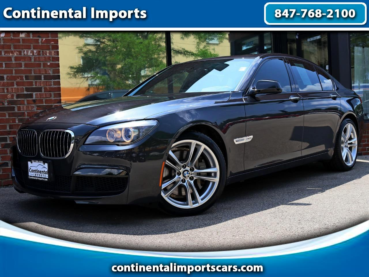 2012 BMW 7-Series 750i xDrive Msport