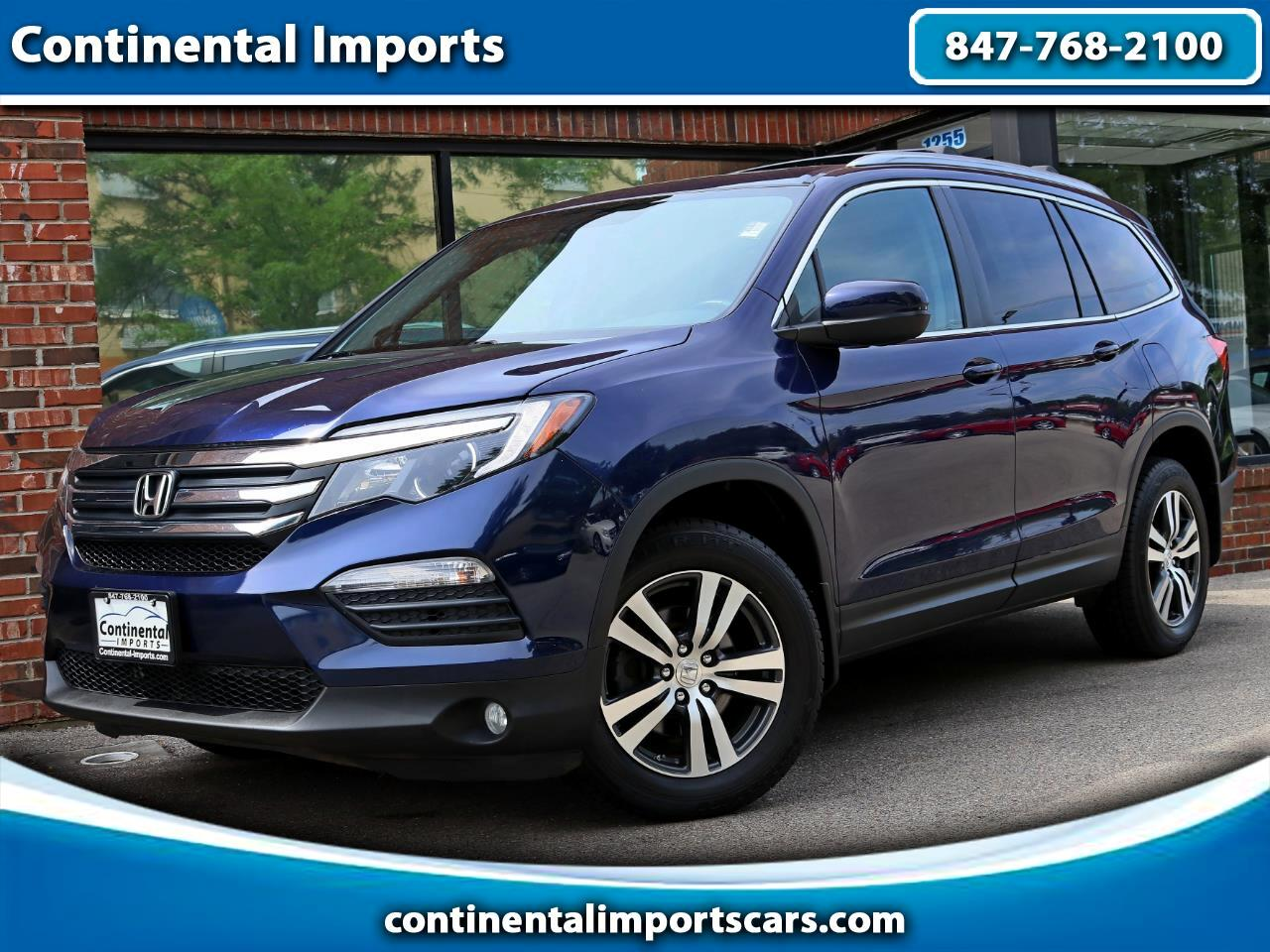 2016 Honda Pilot EX-L w/Rear Entertainment System