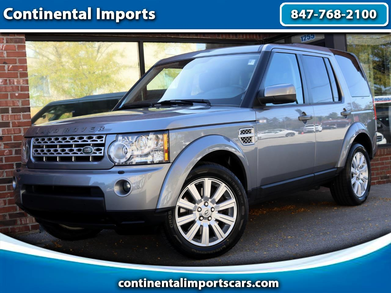 Land Rover LR4 HSE Luxury 2012