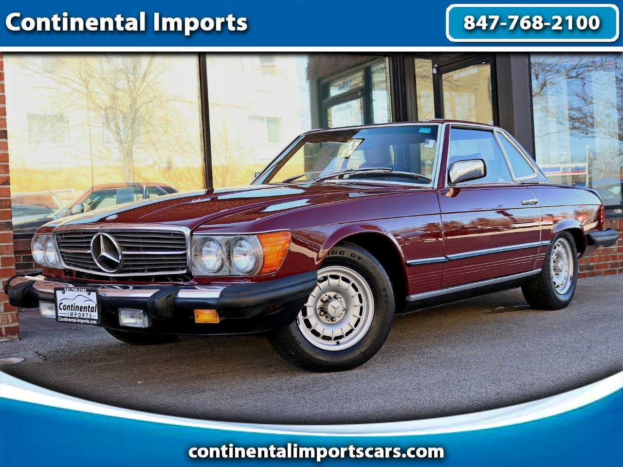Mercedes-Benz 380 SL 1984