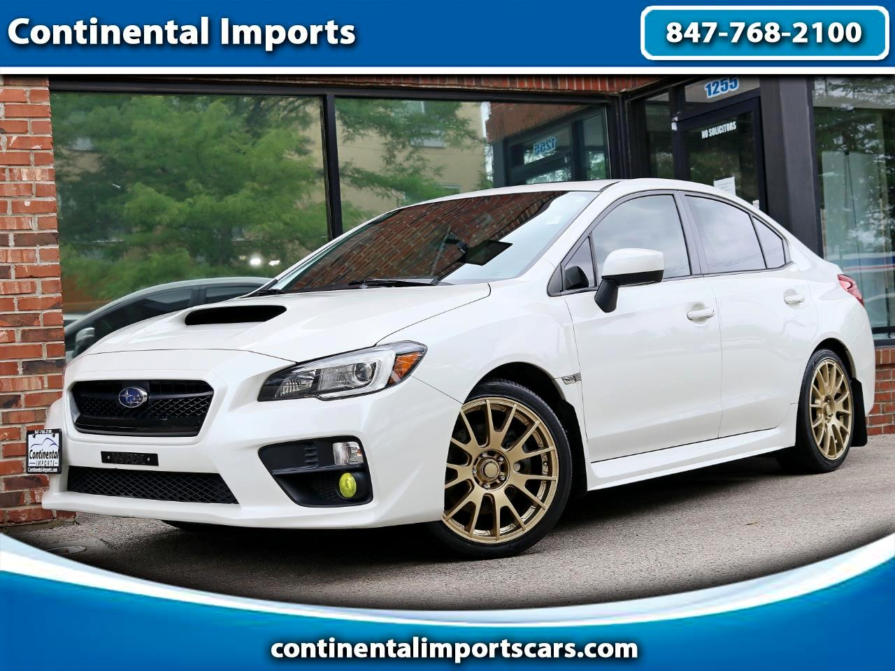 Subaru WRX Limited 4-Door 2015