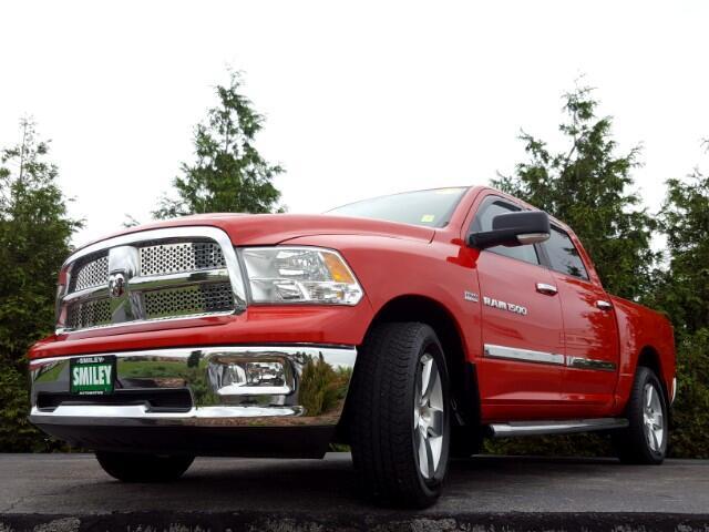 "2012 Dodge Ram 1500 4WD Crew Cab 140.5"" SLT"