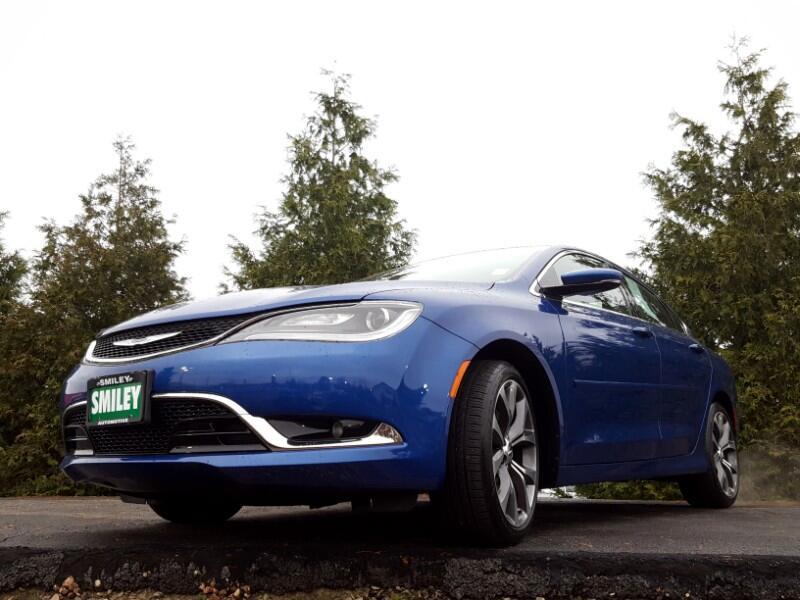 2015 Chrysler 200 4dr Sdn C FWD