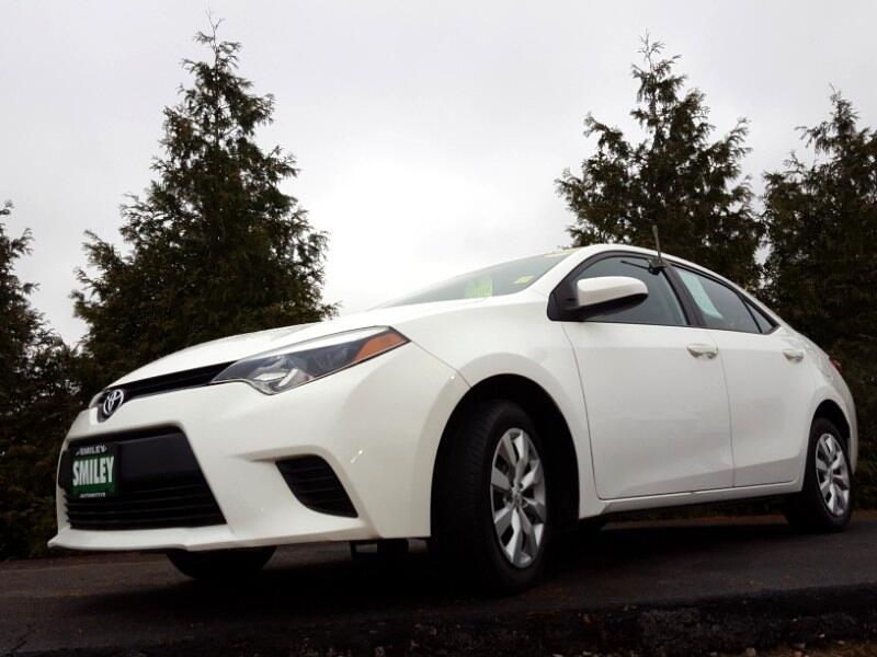 2014 Toyota Corolla 4dr Sdn CVT S Premium (Natl)