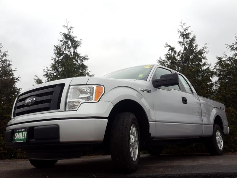 "2012 Ford F-150 2WD SuperCab 145"" XL"