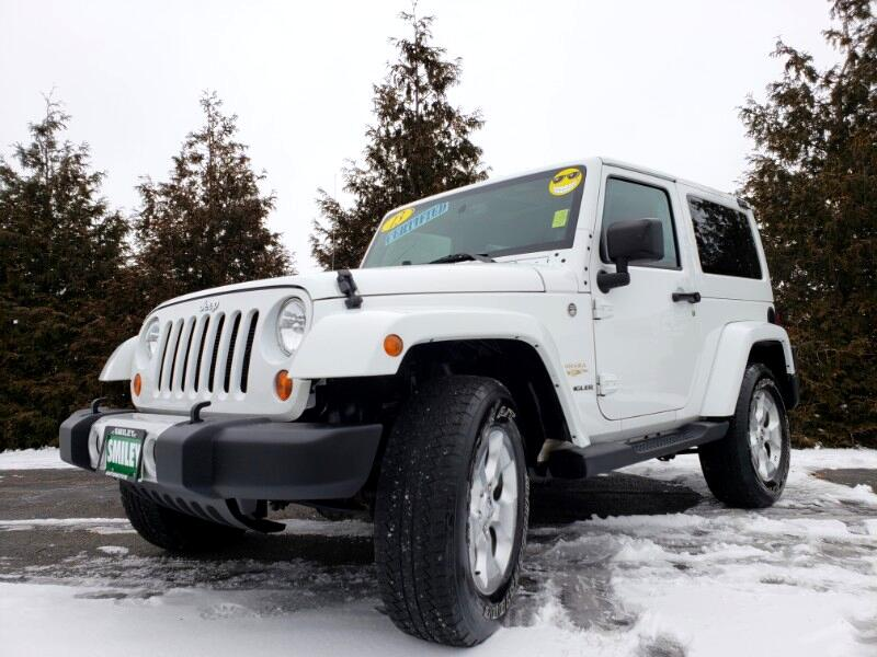 2013 Jeep Wrangler 4WD 2dr Sahara