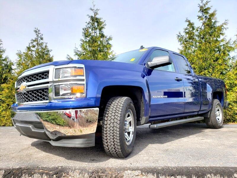 "2014 Chevrolet Silverado 1500 2WD Double Cab 143.5"" Work Truck w/2WT"