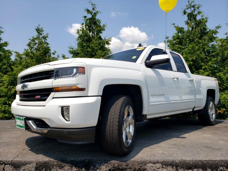 "2016 Chevrolet Silverado 1500 4WD Double Cab 143.5"" LT w/2LT"