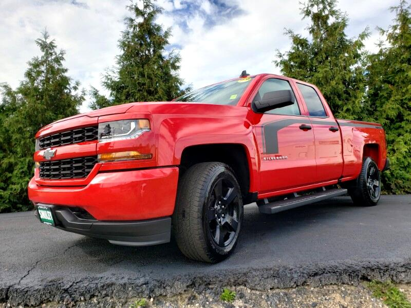 "2017 Chevrolet Silverado 1500 4WD Double Cab 143.5"" Custom"