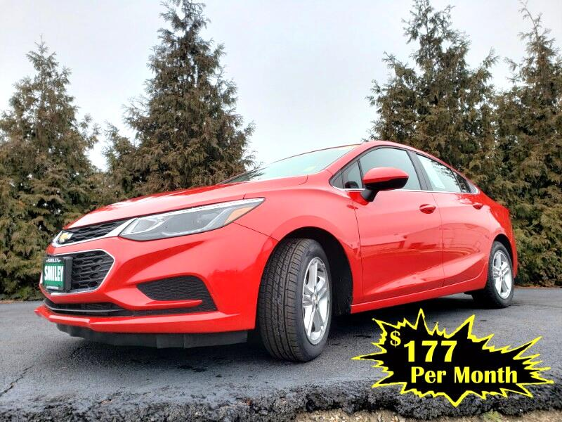 Chevrolet Cruze 4dr Sdn 1.4L LT w/1SD 2017