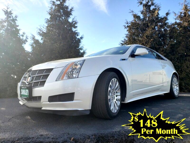 Cadillac CTS Coupe 2dr Cpe AWD 2011
