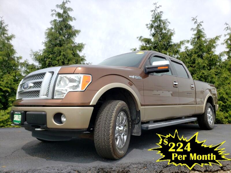 "Ford F-150 4WD SuperCrew 157"" Lariat 2011"