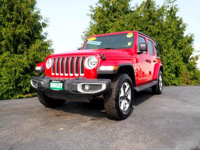Jeep Wrangler Unlimited 4WD 4dr Sahara 2019