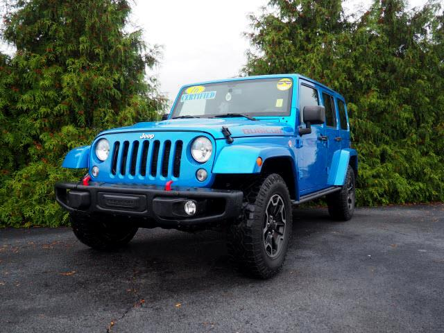 Jeep Wrangler Unlimited 4WD 4dr Rubicon Hard Rock *Ltd Avail* 2016
