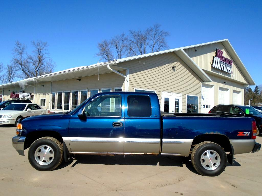 1999 GMC New Sierra 1500 Ext Cab 143.5