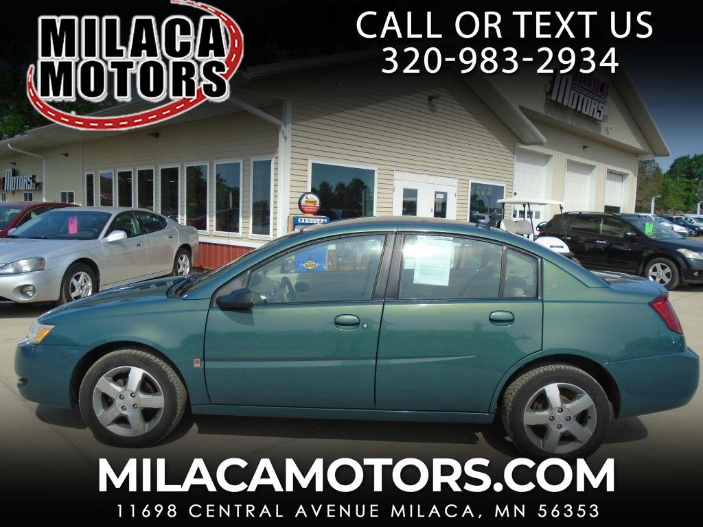 2006 Saturn ION ION 3 4dr Sdn Auto