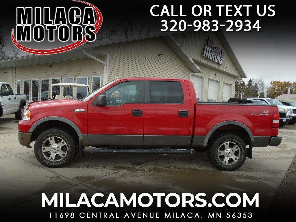 """Ford F-150 4WD SuperCrew 139"""" FX4 2008"""