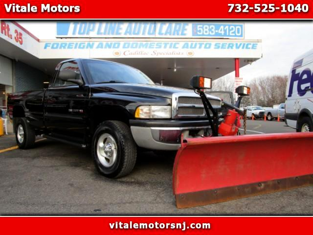 2001 Dodge Ram 1500 LONG BED 4WD W/ SNOW PLOW!