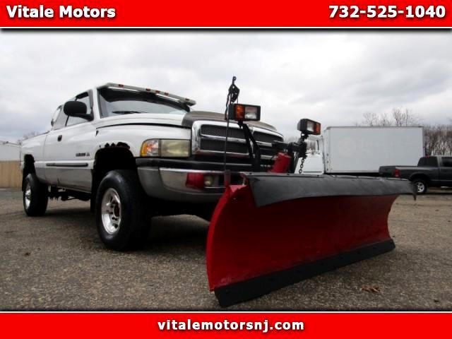 2001 Dodge Ram 2500 4WD W/ SNOW PLOW! 98K MILES.