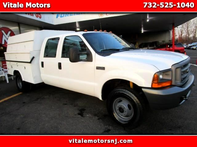 1999 Ford F-350 SD XL CREW CAB 4WD DUALLY UTILITY