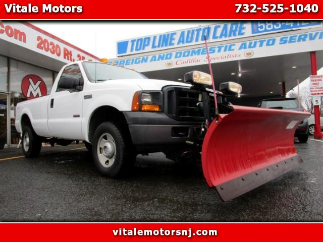 2007 Ford F-250 SD LONG BED 4WD 7K MILES DIESEL W/ PLOW!