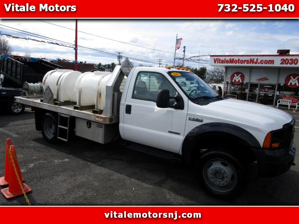 2006 Ford F-550 12 FOOT FLAT DECK 4X4 DRW DIESEL