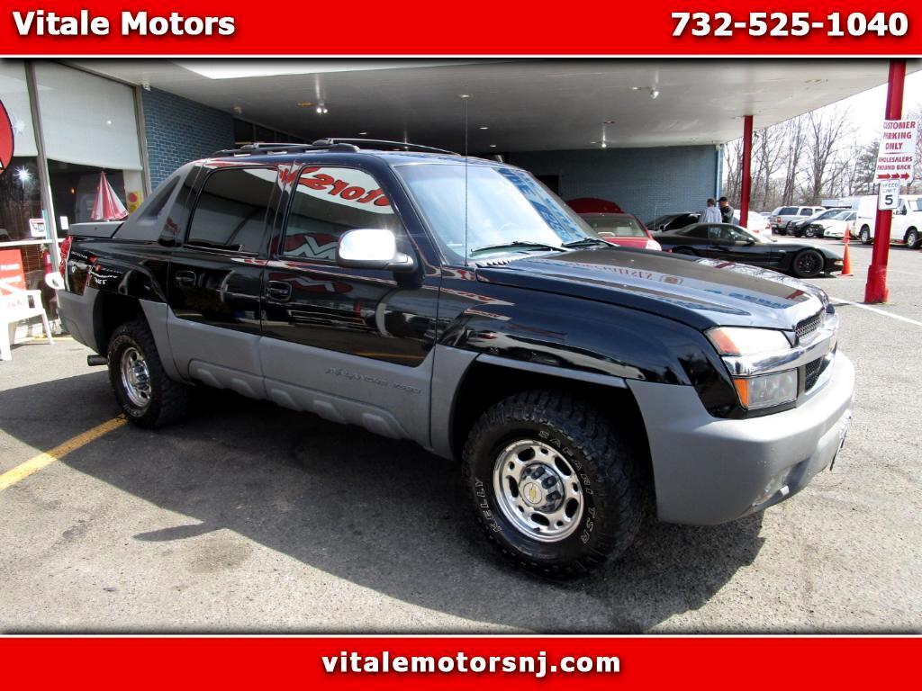 2002 Chevrolet Avalanche 2500 4WD 8.1L 83K