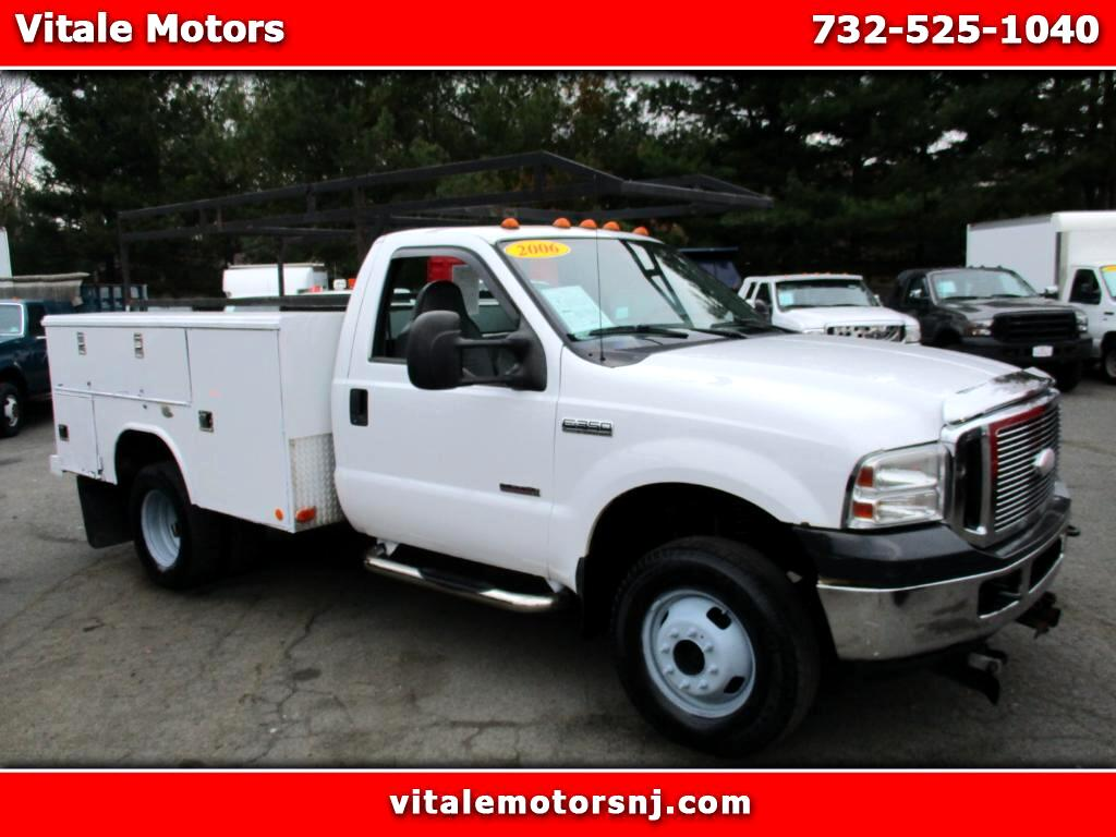 2006 Ford F-350 SD 4X4 UTILITY BODY