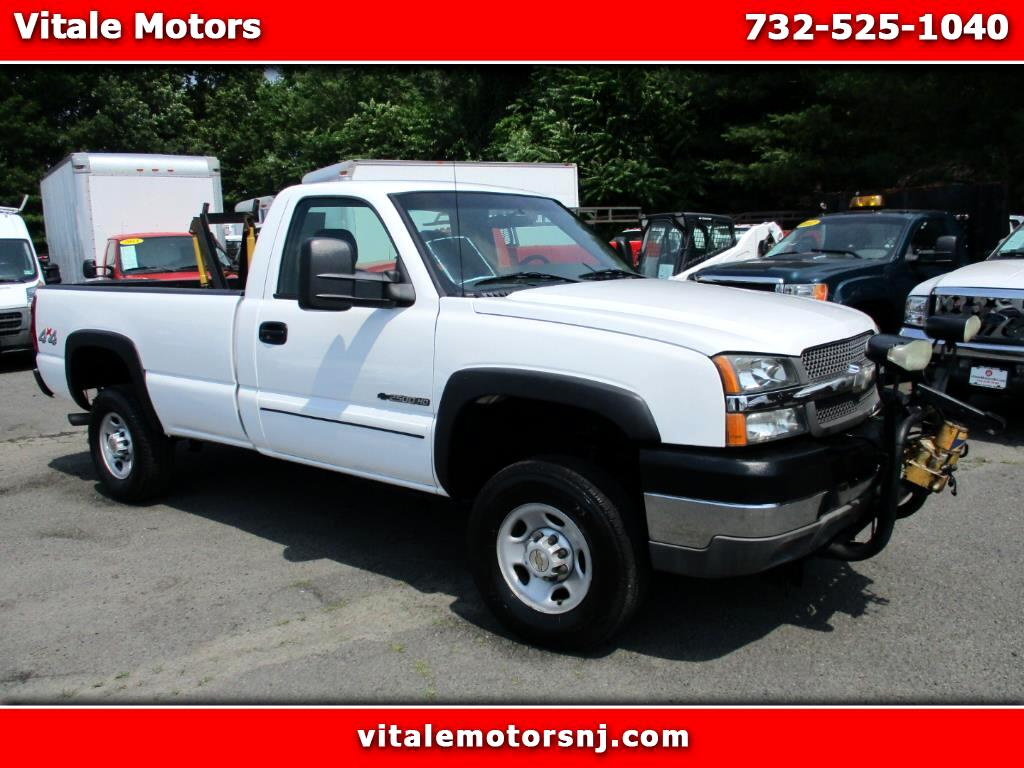2003 Chevrolet Silverado 2500HD 3900 MILES!! LONG BED 4X4 PLOW & SALTER!