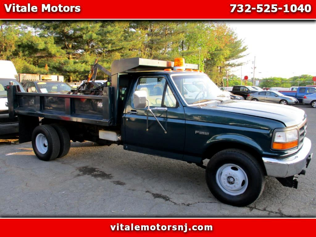 1996 Ford F-450 SD DUMP TRUCK ONLY 8K MILES!