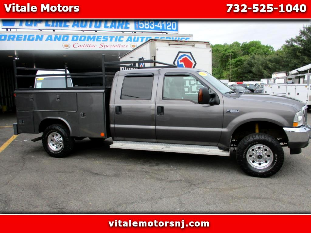 2004 Ford F-250 SD UTILITY BODY 4X4 XLT