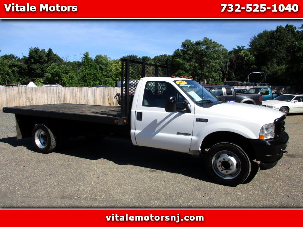 2002 Ford F-450 SD 14 FOOT FLAT DECK 7.3L DIESEL