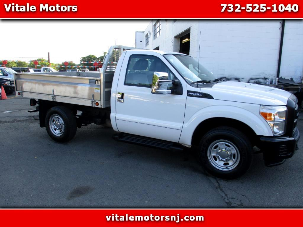 2012 Ford F-250 SD 8 FOOT FOLDING ALUMINUM FLAT DECK
