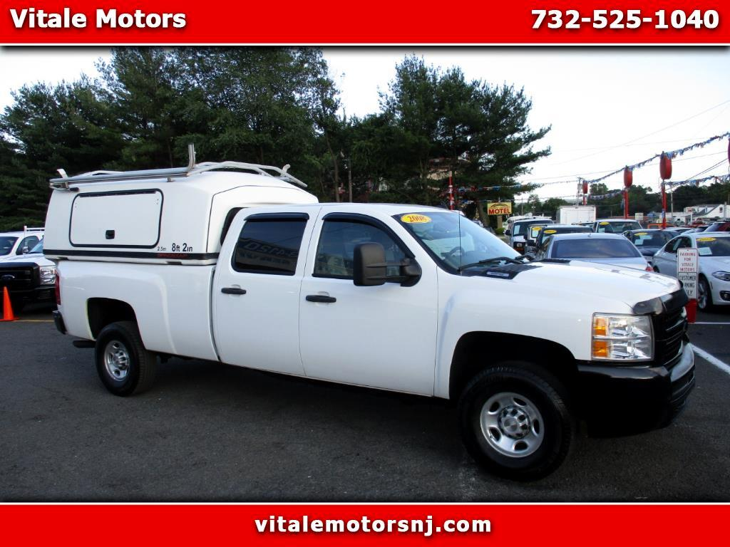 2008 Chevrolet Silverado 3500HD LT1 LONG BED 4X4 ENCLOSED UTILITY CAP