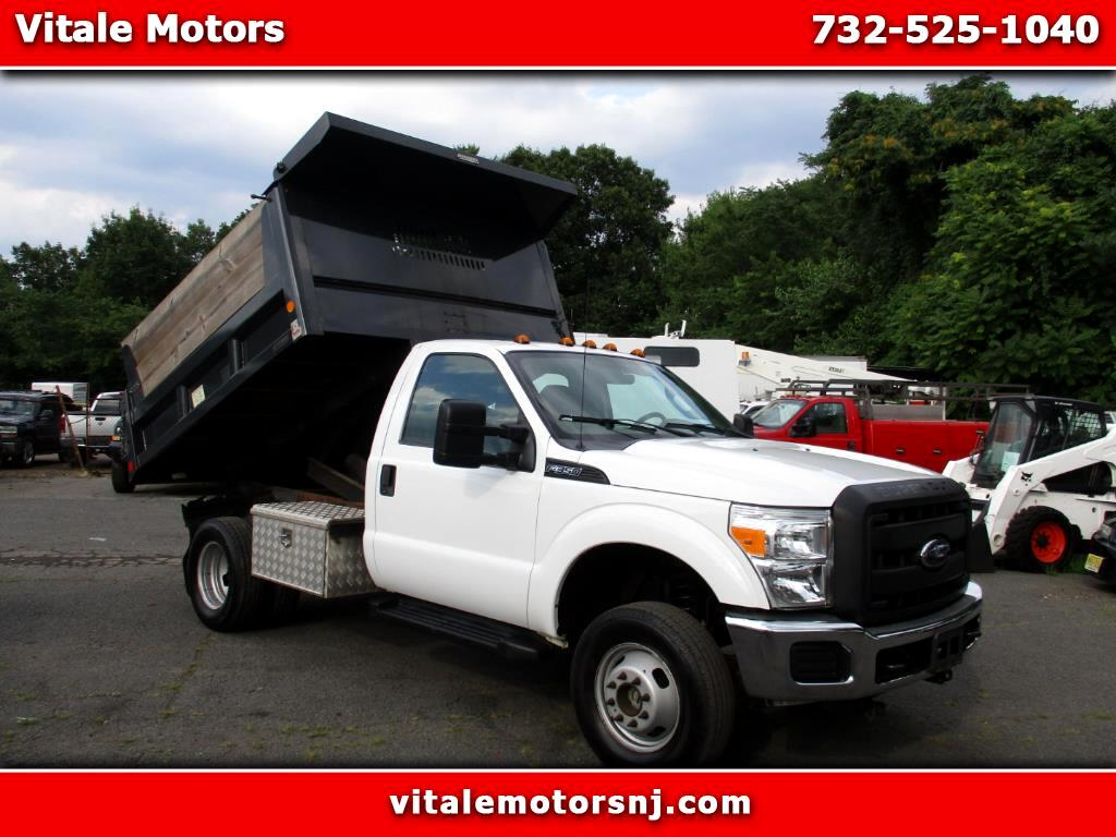 2012 Ford F-350 SD DUMP TRUCK 4X4 GAS 52K MILES