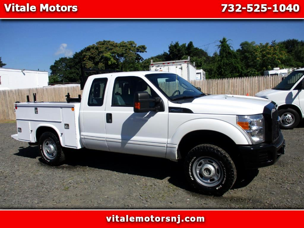 2011 Ford F-250 SD UTILITY BODY 4X4 EXT CAB