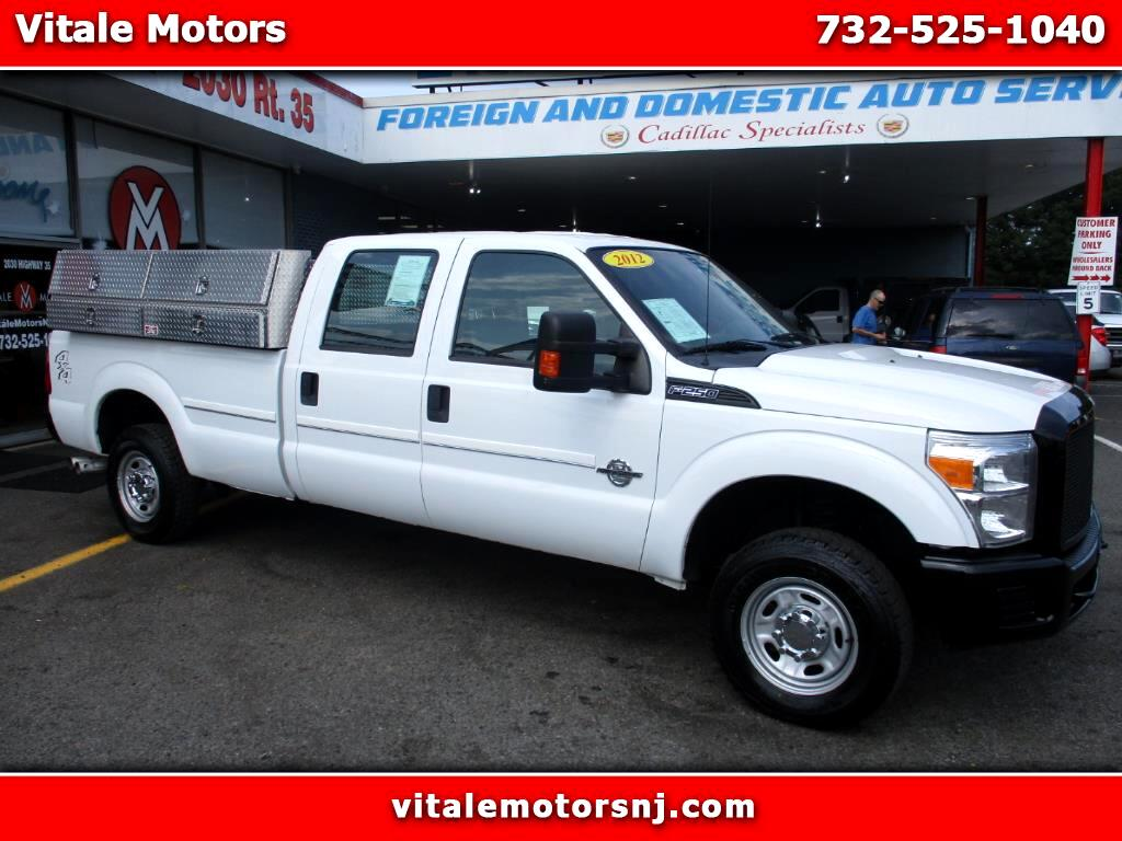 2012 Ford F-250 SD XLT CREW CAB DIESEL 4X4 W/ SIDE BOXES LONG BED