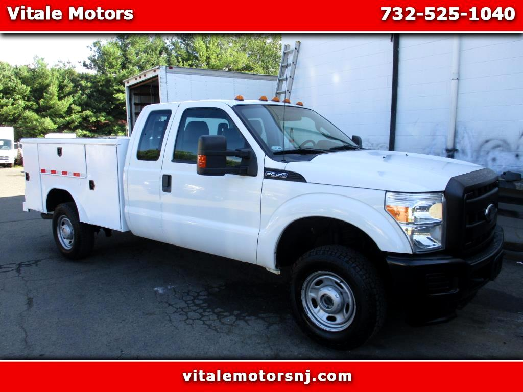 2012 Ford F-350 SD SUPER CAB UTILITY BODY 4X4