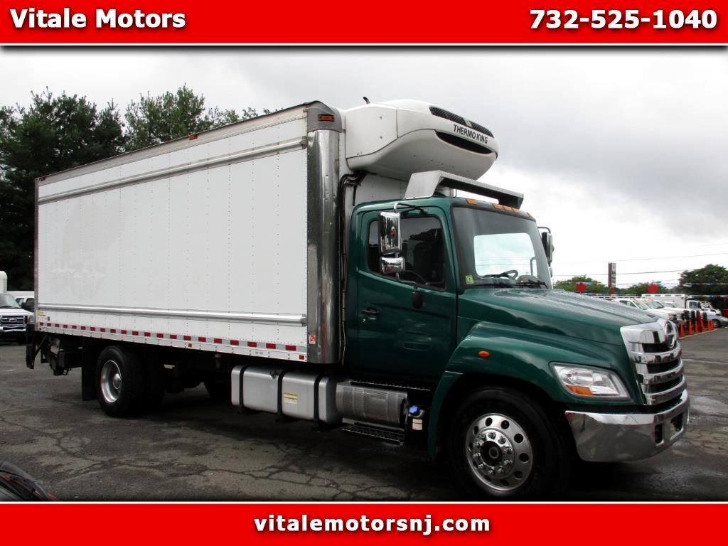 2013 Hino 338 22 FOOT REEFER BOX TRUCK W/ LIFTGATE