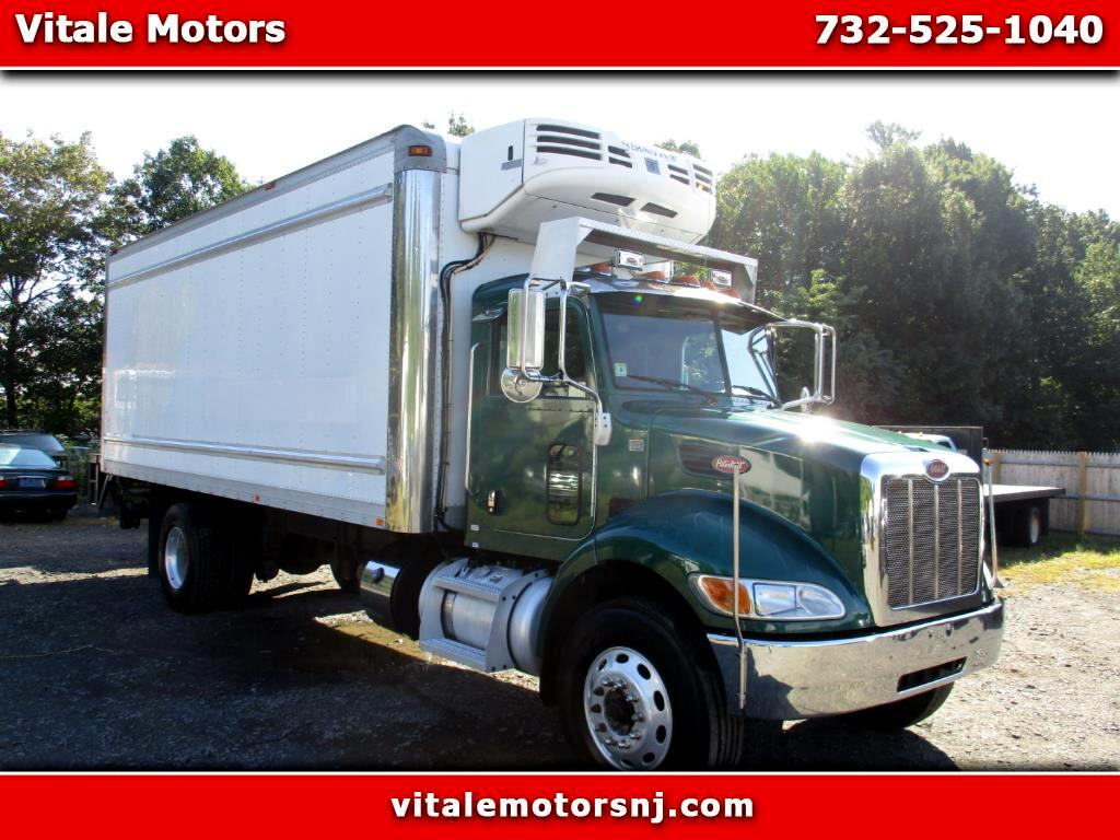 2014 Peterbilt 337 22 FOOT REEFER BOX W/ LIFT GATE
