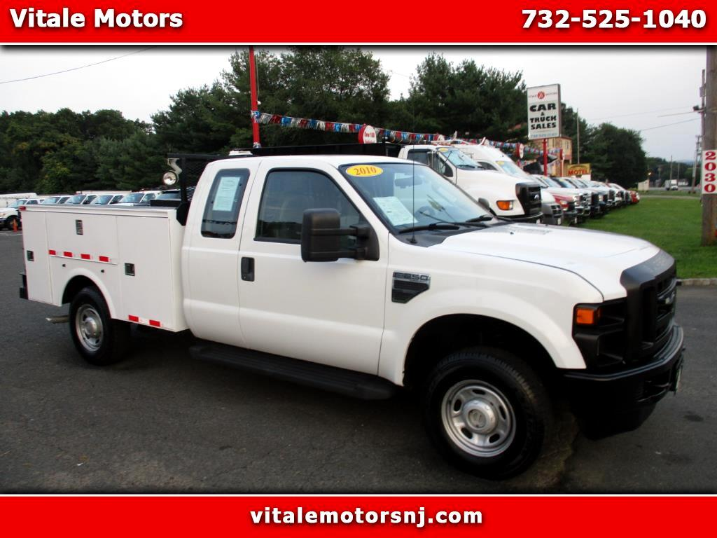 2010 Ford F-250 SD UTILITY BODY SUPER CAB 4X4