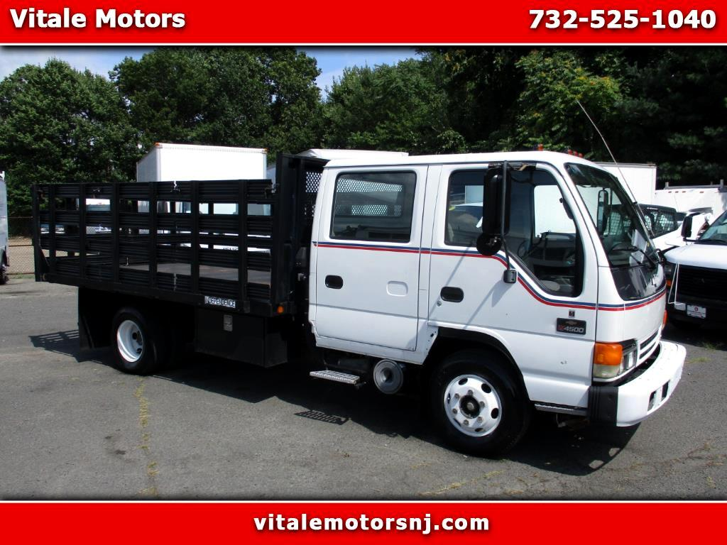 2003 Chevrolet 4500 12 FOOT RACK BODY 4 DOOR DIESEL!