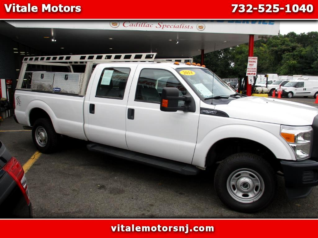 2014 Ford F-250 SD CREW CAB 4X4 SIDE BOXES & LADDER RACK