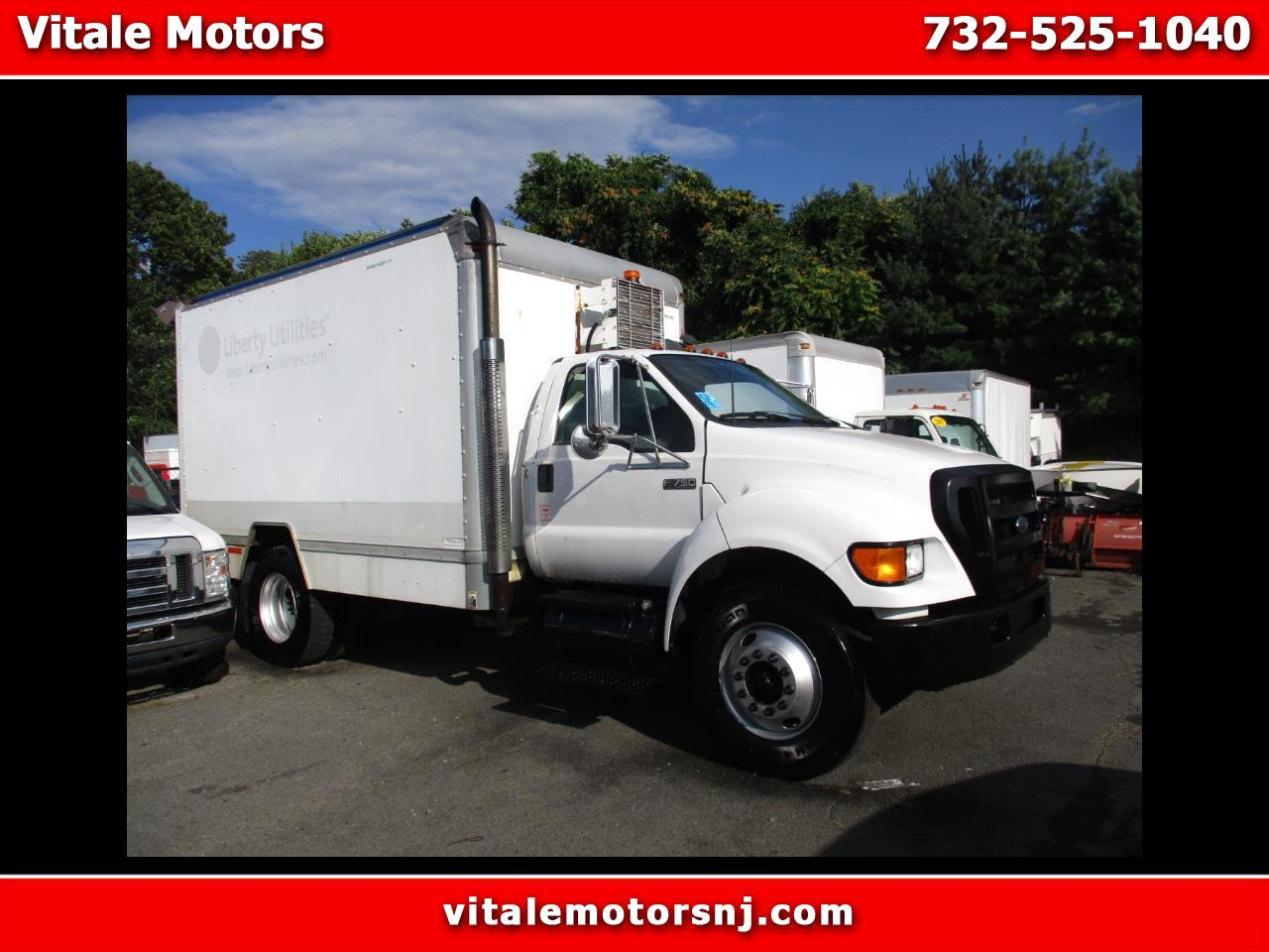 2006 Ford F-750 BOX TRUCK DIESEL 53K MI. MECHANICS TRUCK