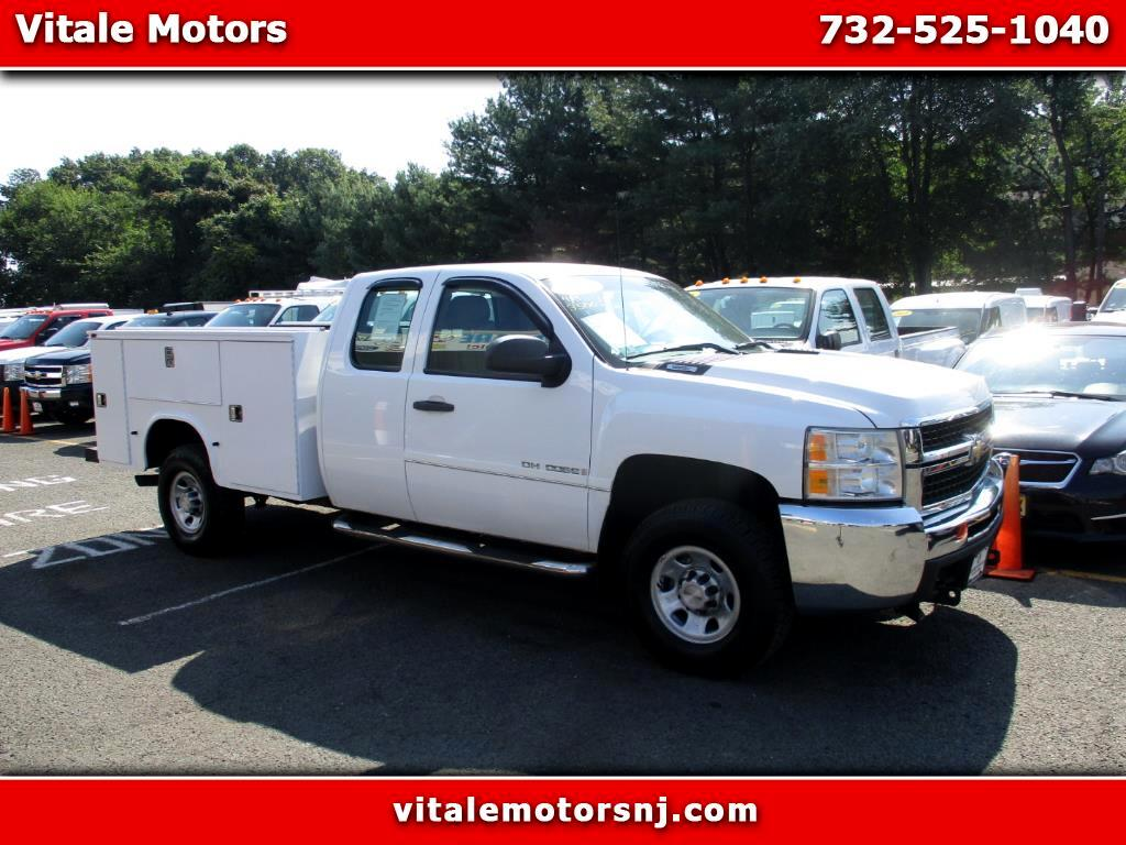 2008 Chevrolet Silverado 3500HD UTILITY BODY 4X4 EXT. CAB 3500