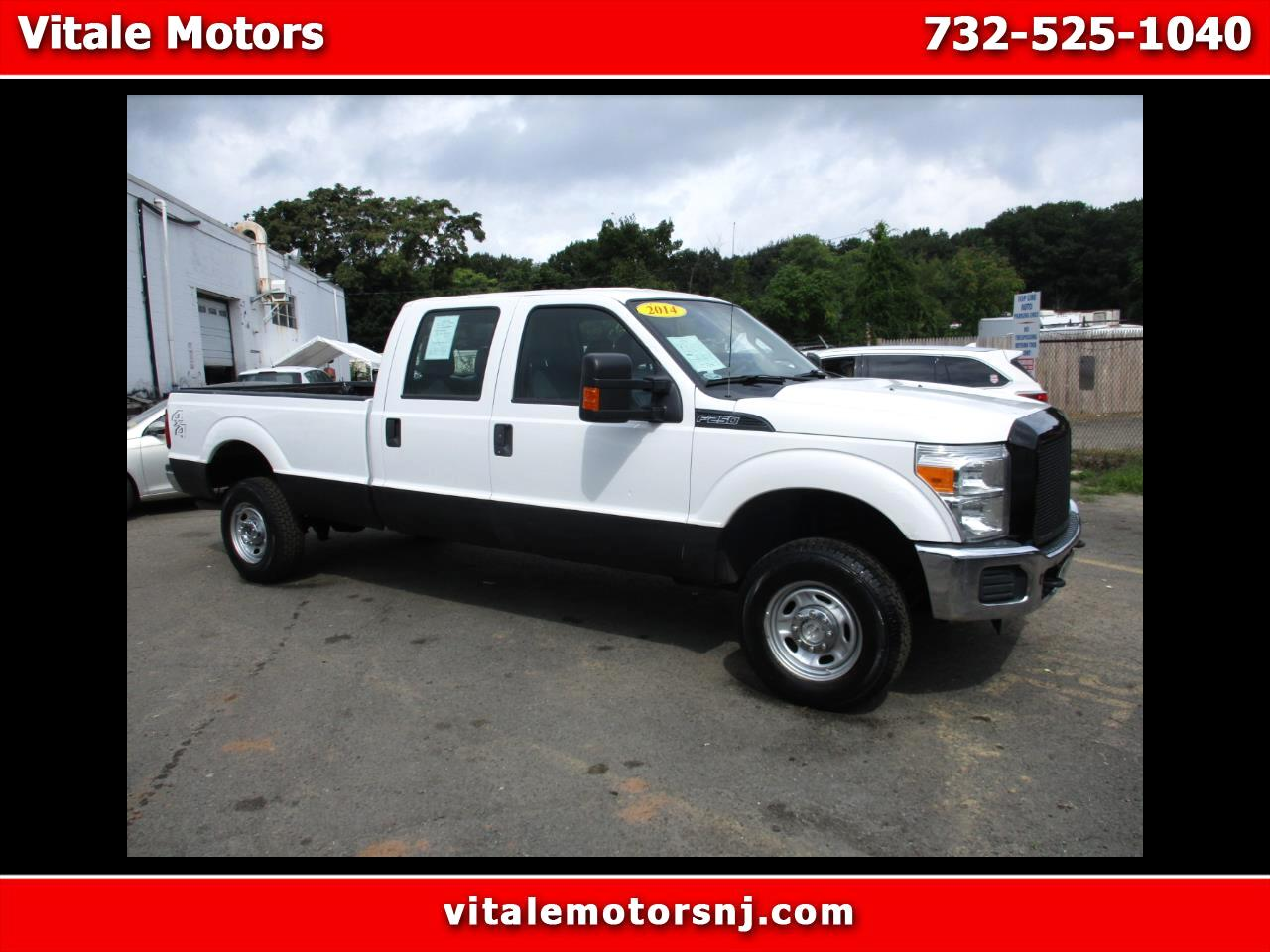 2014 Ford F-250 SD XL CREW CAB 4X4 LONG BED