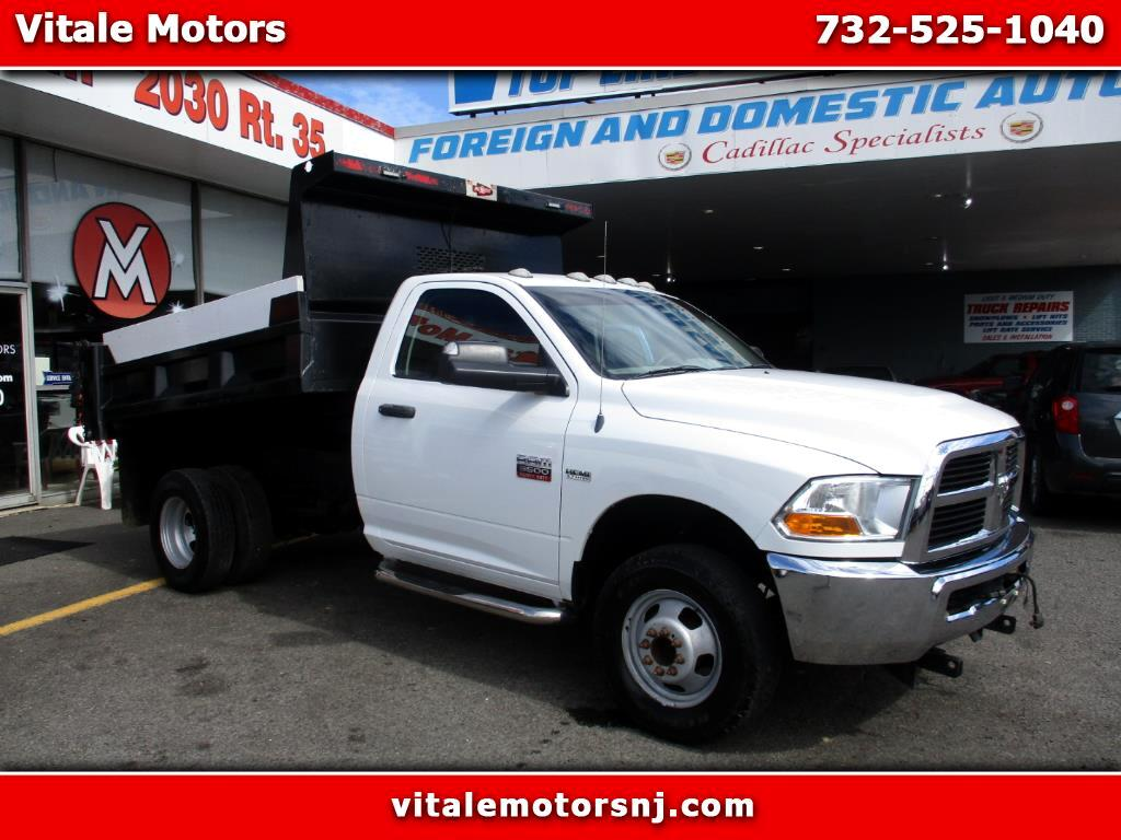 2012 Dodge Ram 3500 SNOW PLOW READY!! (fisher) 4X4 DUMP TRUCK 48K MILE