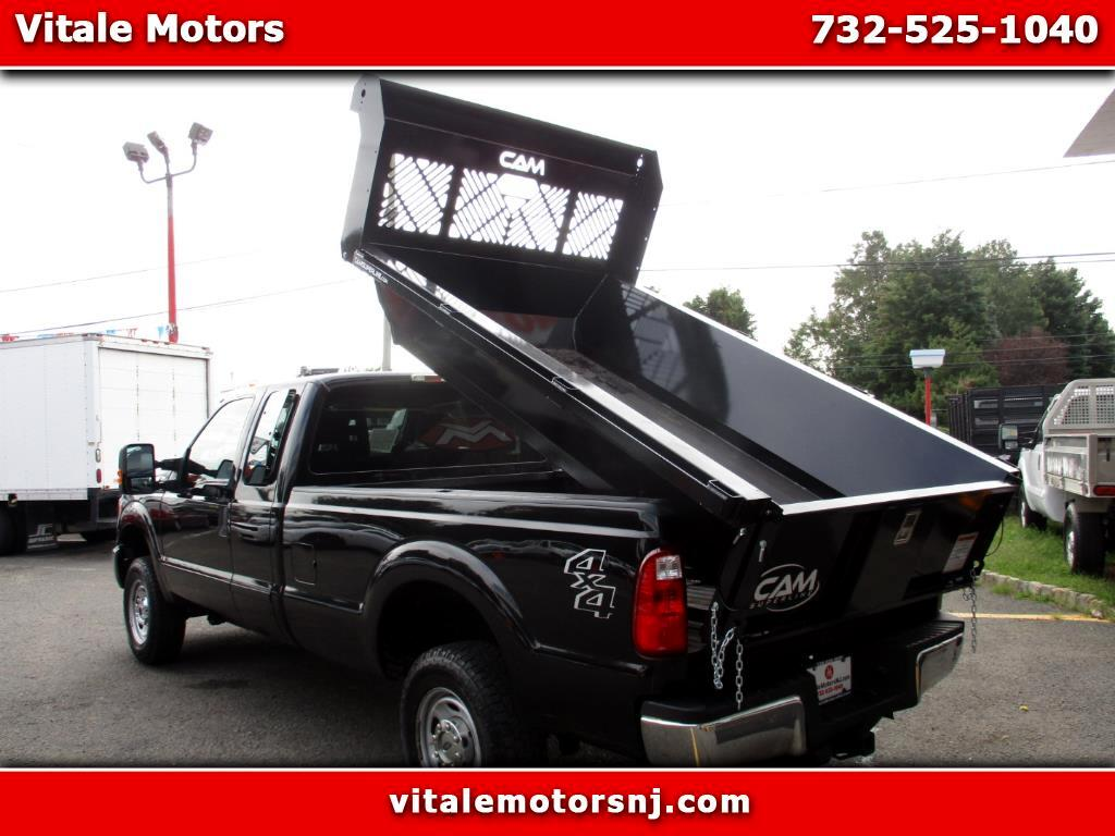 2015 Ford F-250 SD LONG BED 4X4 DUMPING INSERT