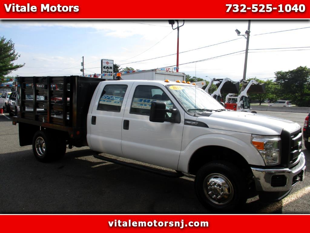 2013 Ford F-350 SD 9 FOOT RACK BODY FLAT DECK 4X4 30K MILES